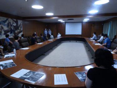 MBC社内試写会,コラボ商品会議